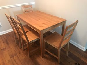 4 piece kitchen table dining set. Move out sale for pick up in buckhead only for Sale in Atlanta, GA