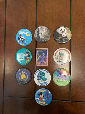 Disney - Button/Pins - Bag #8 for Sale in Davenport, FL