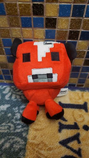 Minecraft Mooshroom Plushie (rarely used) for Sale in Hialeah, FL