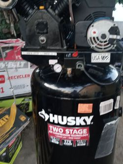 Husky 80 Gal. 175 PSI Electric Stationary 2-Stage Air Compressor for Sale in Gardena,  CA