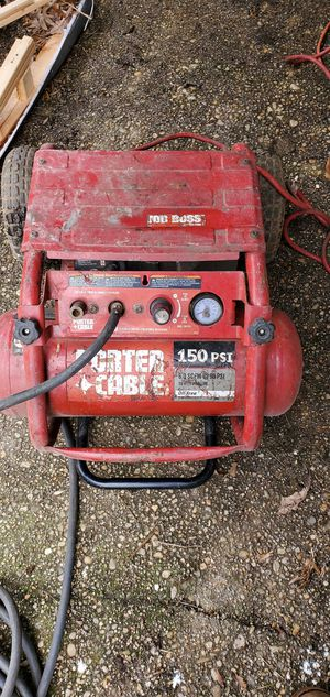 Porter Cable Job Boss compressor for Sale in Silver Spring, MD