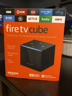 Fire TV Cube 4K for Sale in New York, NY