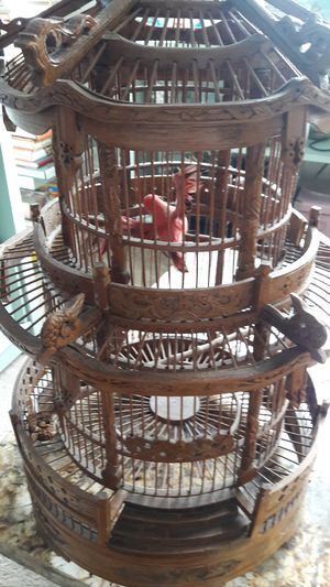 Vintage ornate bird cage for Sale in Kensington, MD