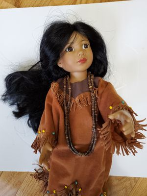 Magic Attic Club Doll Rose in Native American Clothes for Sale in Wake Forest, NC