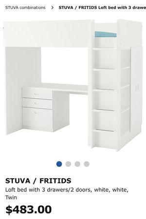 Kids Loft Bed/Dresser Combo for Sale in North Miami Beach, FL