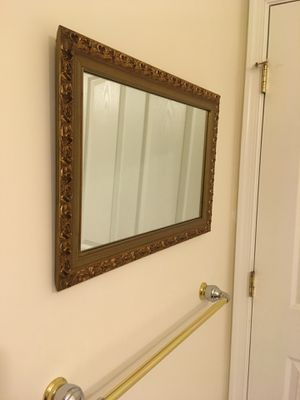 Wall framed mirror- rectangle for Sale in Columbia, MD