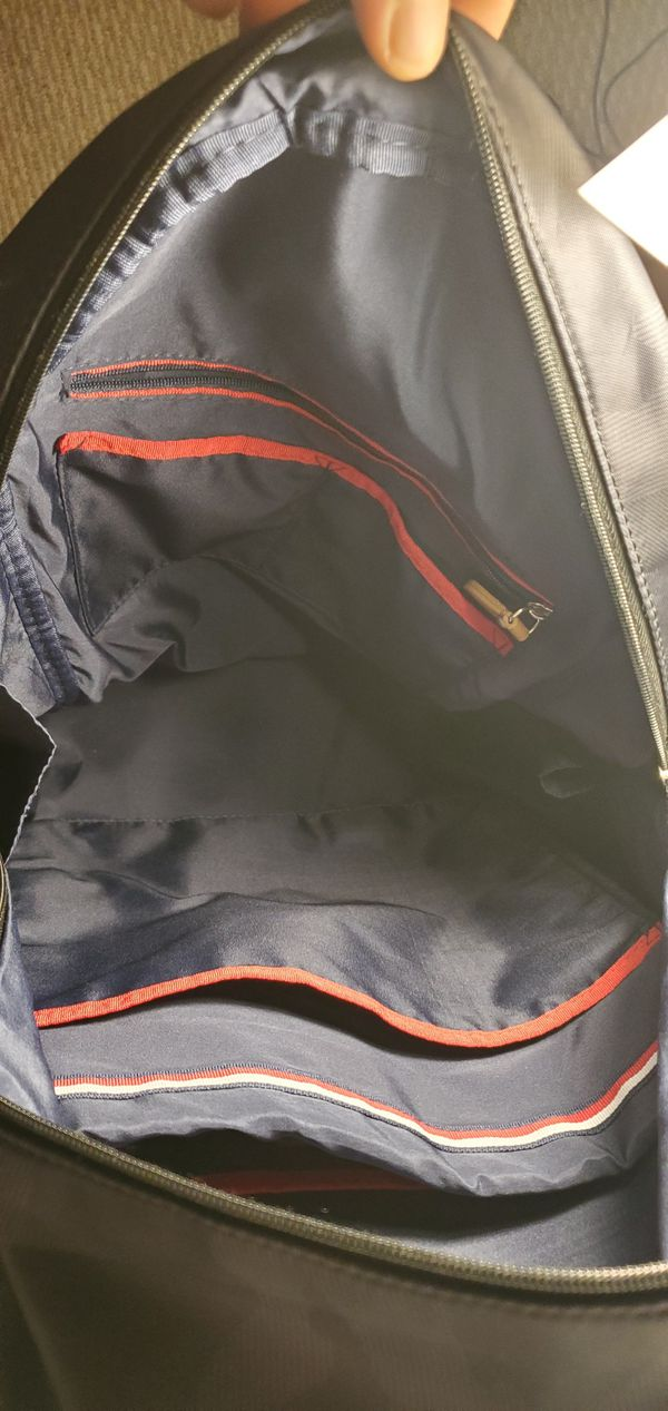 Tommy Hilfiger Navy Camo Backpack