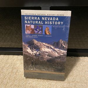 Sierra Nevada Natural History Textbook For Biology College Class for Sale in Fresno, CA
