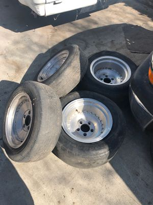 15in Chevy rims for trade for Sale in Riverside, CA
