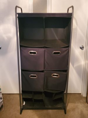 12-cubby fabric dresser for Sale in Austin, TX