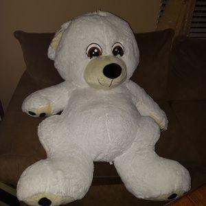TOY FACTORY PLUSH SOFT & CLEAN WHITE STUFFED POLAR TEDDY BEAR for Sale in Middleburg, FL