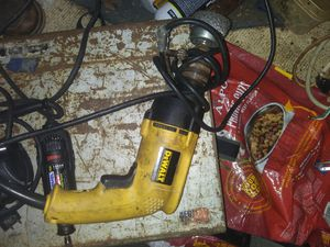 Dewalt drill corded for Sale in Scott Depot, WV