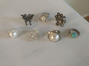 Assorted adjustable/non adjustable rings for Sale in Fairfax, VA