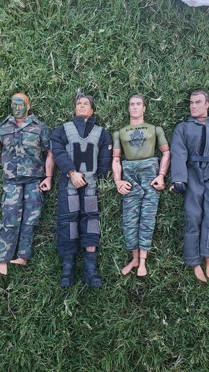 GI Joe dolls action figures **holding until 8/16 for Sale in Ontario, CA