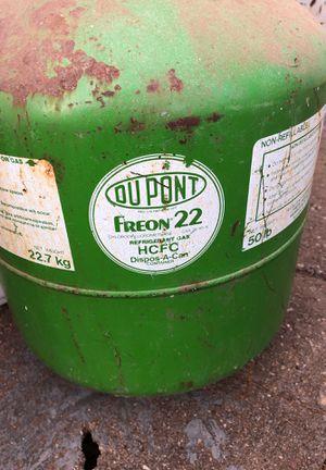 Freon helium propane bottles for Sale in Lubbock, TX