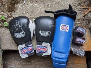 Muai Thai Gloves, shin pads, wraps for Sale in Seattle, WA