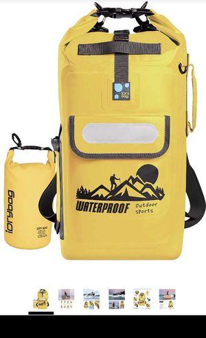 NEW IDRYBAG Dry Bag Backpack Waterproof 20L, Waterproof Backpack Floating Dry Bag,Roll Top Keeps Gear Dry for Kayaking for Sale in Garden Grove, CA