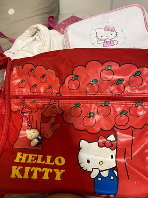 Hello kitty backpack(red) for Sale in San Diego, CA