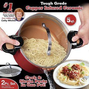 New Red copper better pasta pot for Sale in Chula Vista, CA