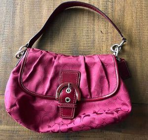 Coach purse - red for Sale in Puyallup, WA