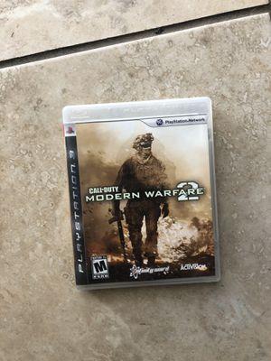 Modern warfare 2 PS3 for Sale in El Monte, CA