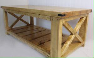 """""""Anna White"""" farmhouse coffee table for Sale in Santa Fe, TX"""