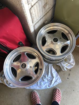 "Boyd Coddington 15"" rims Ford for Sale in Huntington Beach, CA"