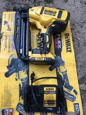 Brand new 16g nail gun set for Sale in Greenville, SC