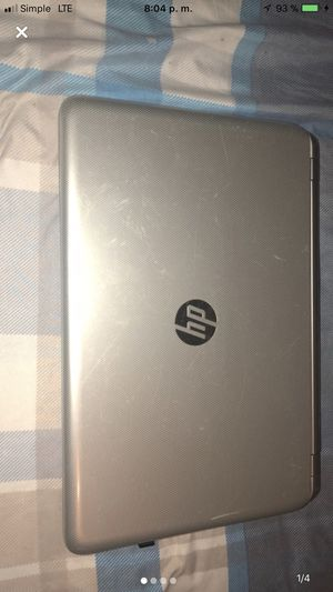 Laptop hp pavilion touch smart 15 notebook pc for Sale in New York, NY