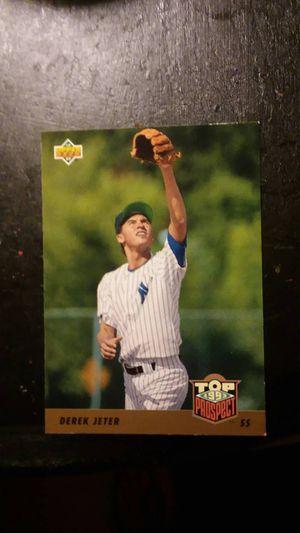 Derek Jeter card for Sale in Anderson, SC