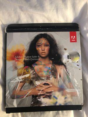 Adobe creative Suite 6 for Sale in Dallas, TX