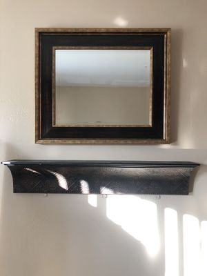 Shelf and Wall Mirror for Sale in La Mesa, CA