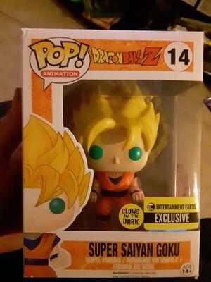 Funko Pop! Super Sayian Goku (Glow in the Dark) from Dragonball Z for Sale in Phoenix, AZ