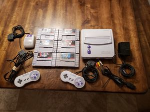 Super Nintendo Jr with games for Sale in Glen Raven, NC