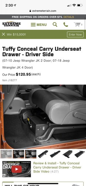 Tuffy Underseat Lock Box for Sale in Norman, OK