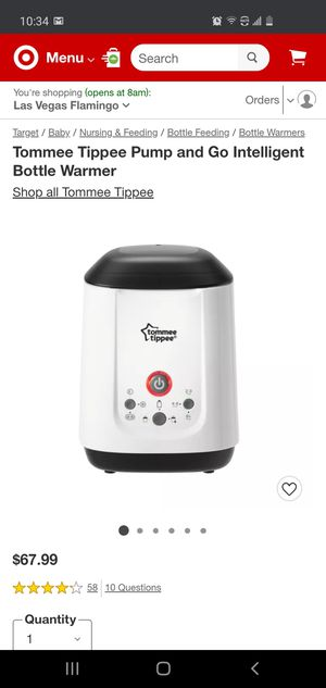$50 TOMMEE TIPPEE PUMP AND GO POUCH AND BOTTLE WARMER for Sale in Las Vegas, NV