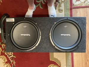 "Rockford Fosgate 12"" subwoofer in Box for Sale in Edgewater, CO"