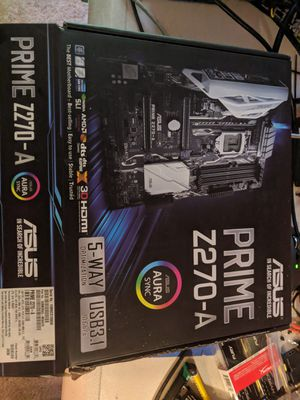 ASUS prime Z270 A in perfect condition for Sale in Stroudsburg, PA