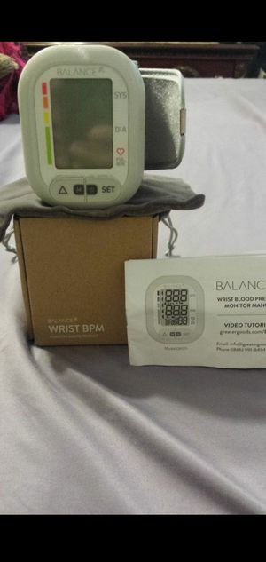 Blood pressure monitor for Sale in Reedley, CA