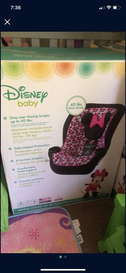 Minnie Car Seat for Sale in Victorville, CA