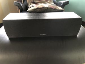 Onkyo Black Center Speaker for Sale in Reno, NV