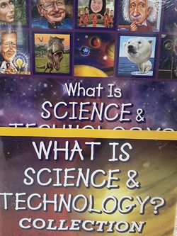 What Is, Who Is Who Was Science And Technology Lot Of 25 Books, Brand New. for Sale in Tigard,  OR
