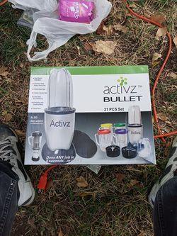 Activz bullet 21 pcs set for Sale in Arlington,  TX