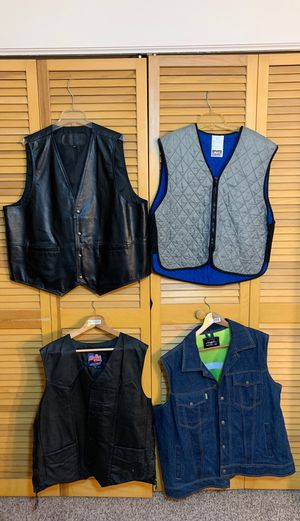 Motorcycle 2XL Vests for Sale in Tampa, FL