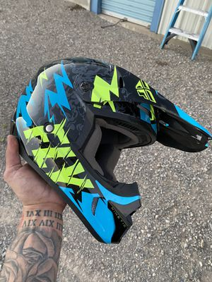 Youth-S Fly motocross helmet for Sale in Los Cerrillos, NM