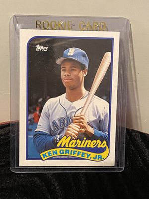 1989 Ken Griffey Jr Topps Traded Rookie Baseball Card for Sale in Covina, CA