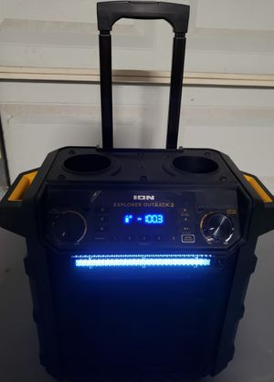 ION EXPLORER OUTBACK 2 Bluetooth Speaker for Sale in San Antonio, TX
