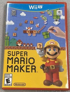 Super Mario Maker for Wii U Nintendo WiiU - GOOD CONDITION for Sale in Winter Springs, FL