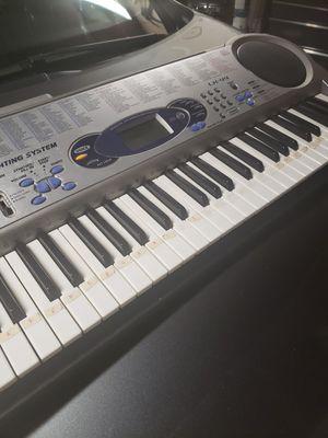Casio LK-44 Midi Music Keyboard - 61 Key Piano for Sale in Modesto, CA