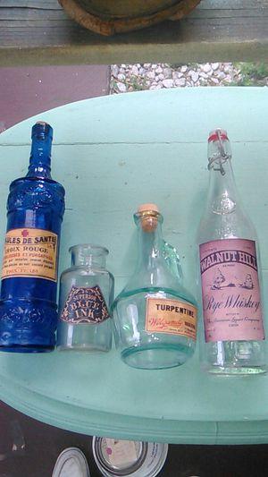 Antique bottles 4 pc for Sale in Port Charlotte, FL